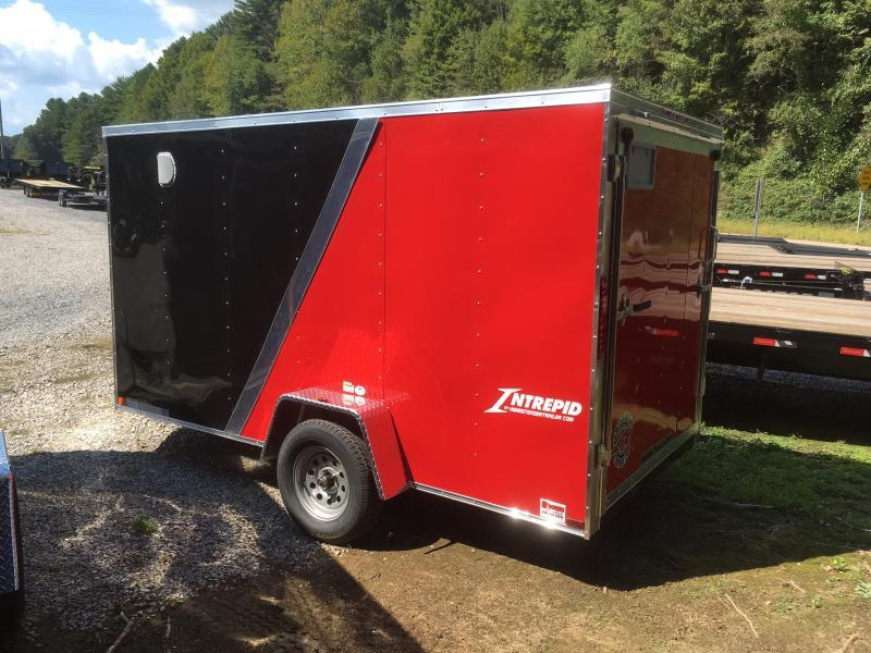 2019 Homesteader Inc. 6x12 Intrepid 2tone sd ramp single axle Enclosed Cargo Trailer