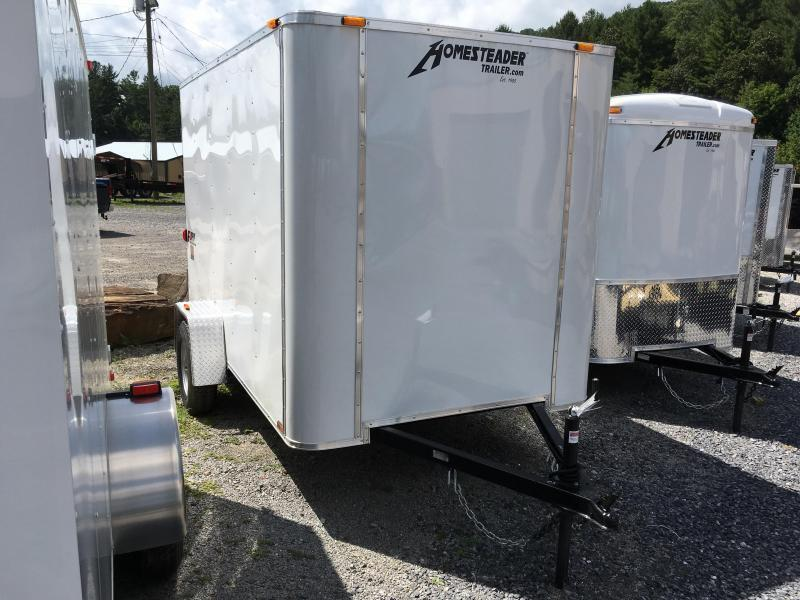 2019 Homesteader Inc. 6x12 fury double door only Enclosed Cargo Trailer