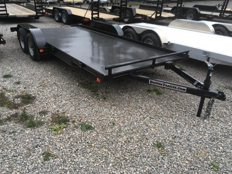 2018 Other 82x18 basic steel car hauler Car / Racing Trailer