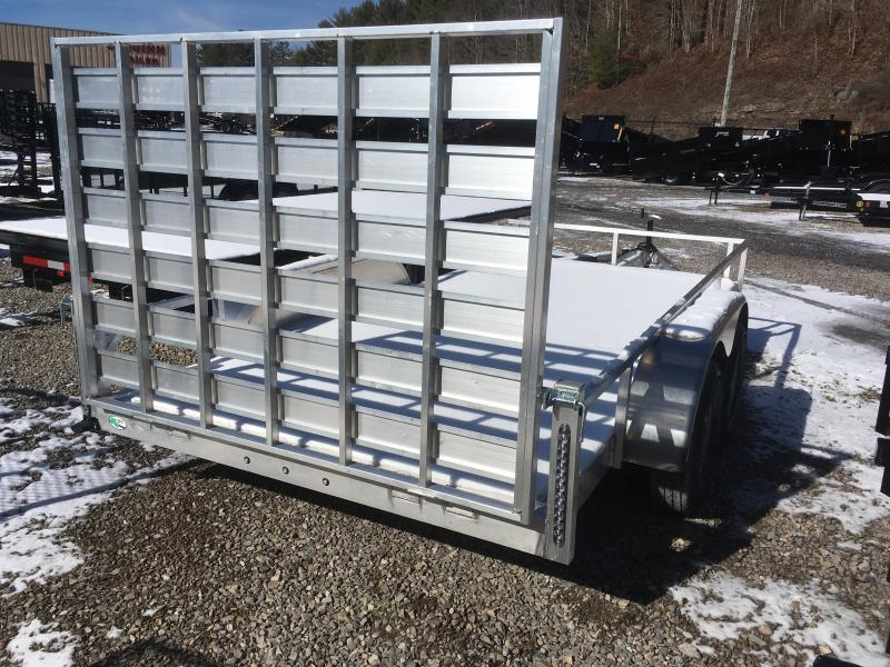 2020 Forest River 78x14 tandem axle all aluminum Utility Trailer
