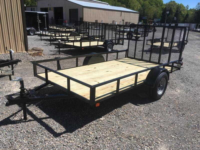 2018 Other (Not Listed) 76x12 gate single axle Utility Trailer