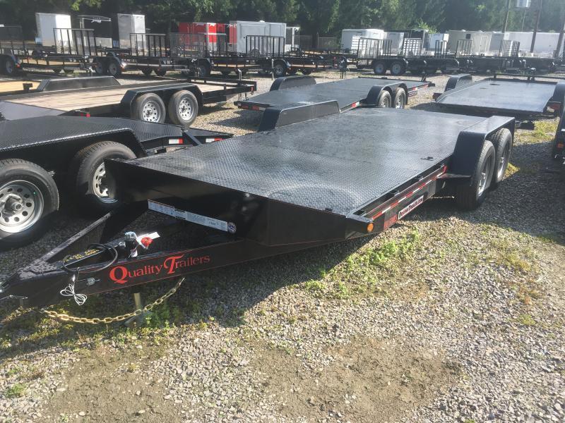 2019 Quality Trailers 82x20 5ton pro series steel car hauler 4brk Car / Racing Trailer
