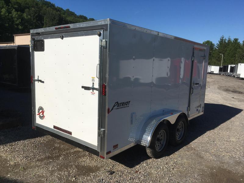 2019 Homesteader 7x14 Intrepid sd ramp Enclosed Cargo Trailer