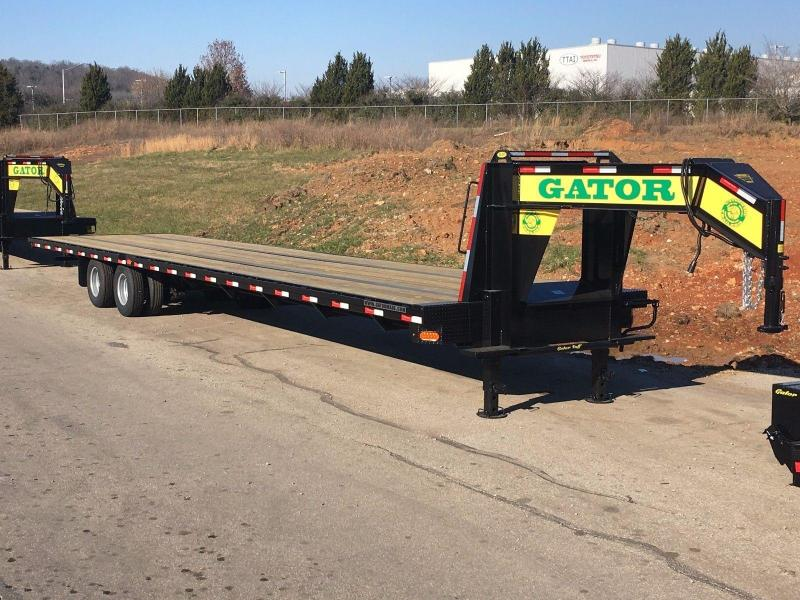 2019 Gatormade Trailers 40ft Hotshot Gooseneck Equipment Trailer