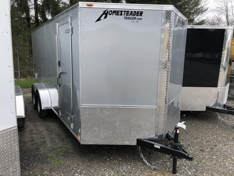 2019 Homesteader 7x16 Intrepid sd ramp Enclosed Cargo Trailer