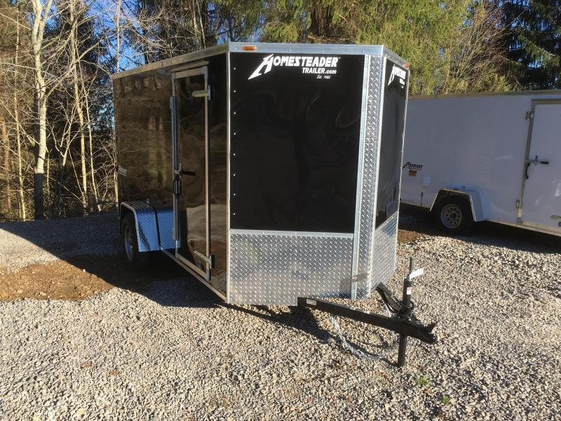 2018 Homesteader Inc. 6x12 patriot/intrepid sd ramp single axle Enclosed Cargo Trailer