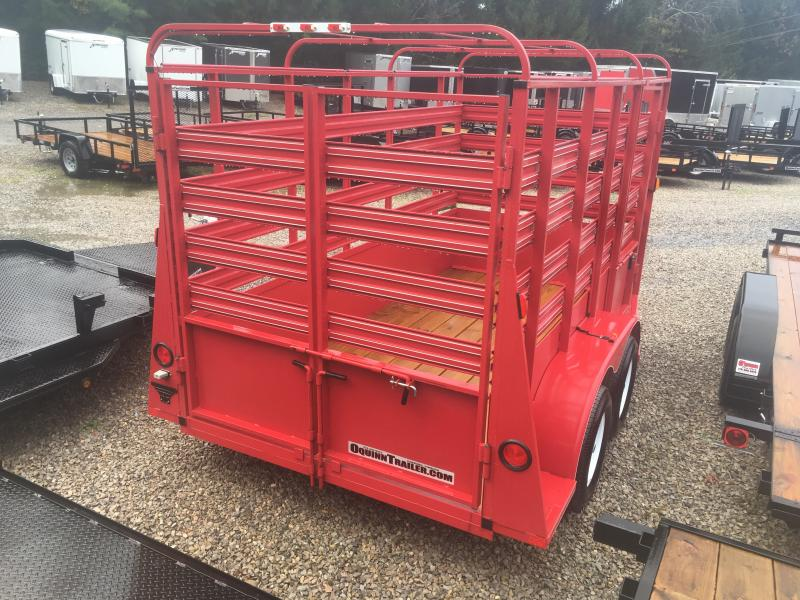 2019 Carry-On 6x12 Livestock Trailer 4 brakes Livestock Trailer
