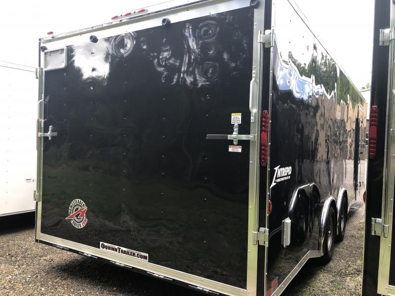2020 Homesteader 8.5x24 Intrepid 5 ton spread axle escape door wide ramp car hauler Enclosed Cargo Trailer