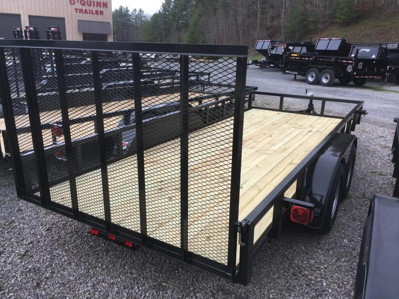 2018 Other (Not Listed) 76X16 gate TUBE TOP brake Utility Trailer