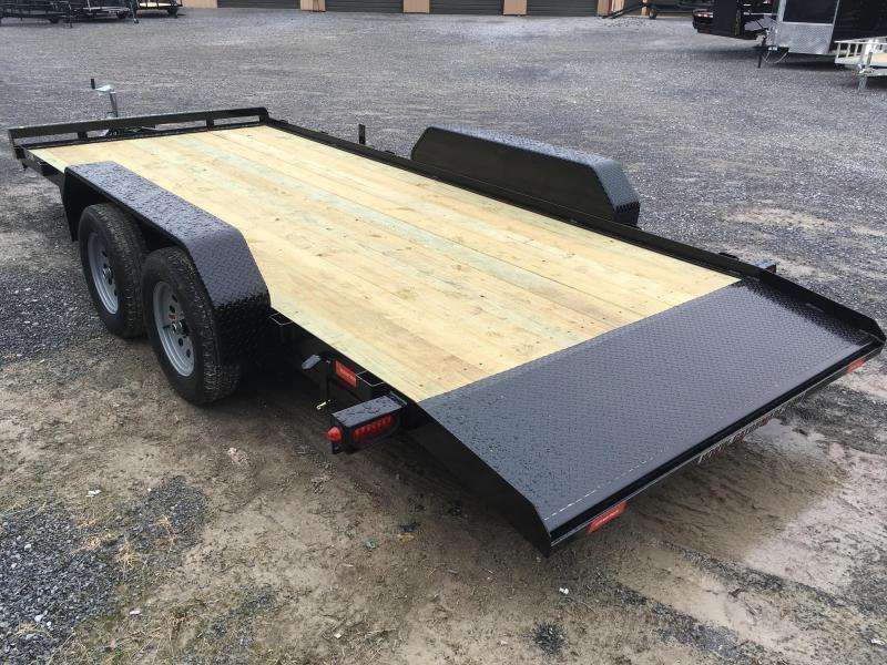 2019 Gatormade Trailers 18ft dovetail wood car hauler Car / Racing Trailer