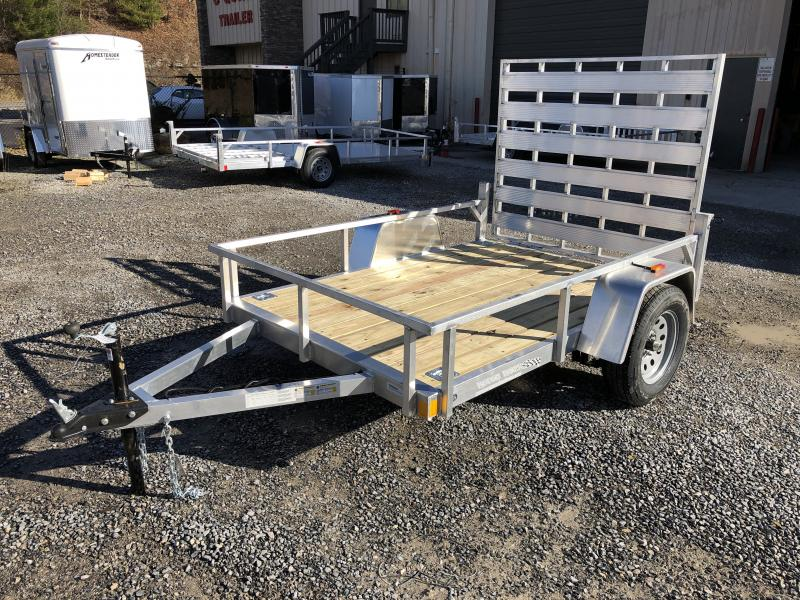 2019 Forest River Inc. 5.5x8 aluminum w/wood floor Utility Trailer