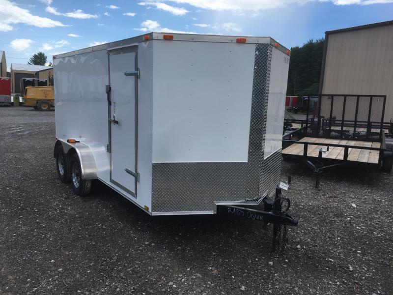 2019 Cynergy 7x14 vnose sd ramp Enclosed Cargo Trailer
