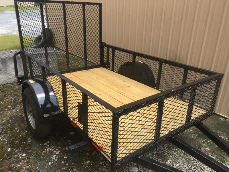 2018 Other (Not Listed) 5x8 2ft mesh sides single axle Utility Trailer