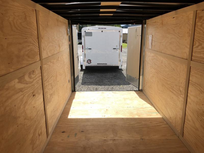 "2020 Homesteader Intrepid 7x16 tandem axle 6"" extra ht double door enclosed cargo trailer"
