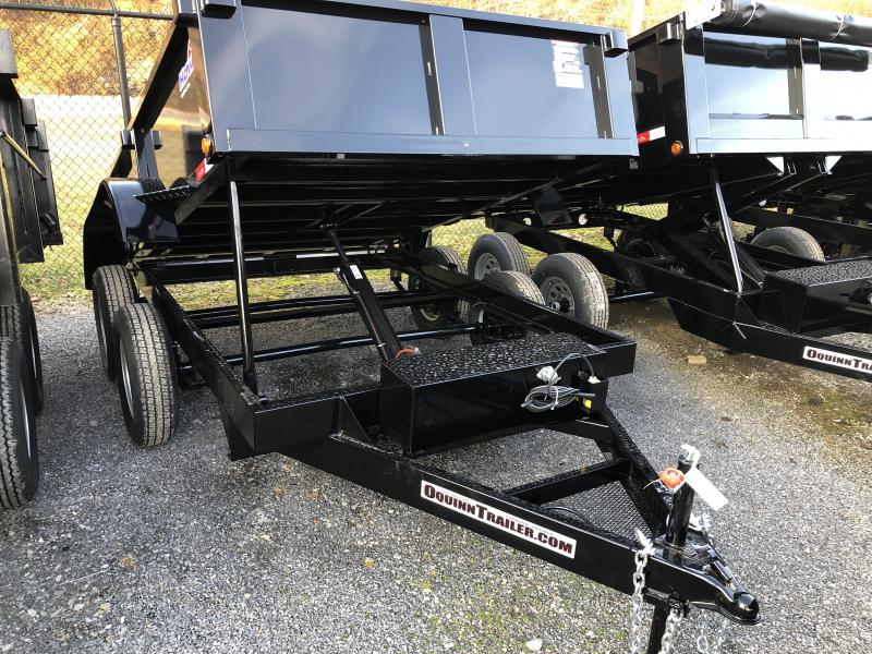2019 Hawke Trailers 6X10 3.5TON Cardinal Low Profile Barn Doors Dump Traile