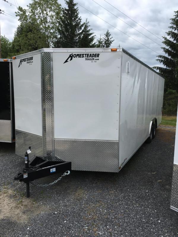 2019 Homesteader 8.5x24 intrepid 5 ton car hauler Enclosed Cargo Trailer