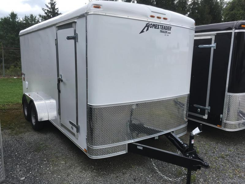2020 Homesteader 7x16 Challenger SD Double Door Enclosed Cargo Trailer