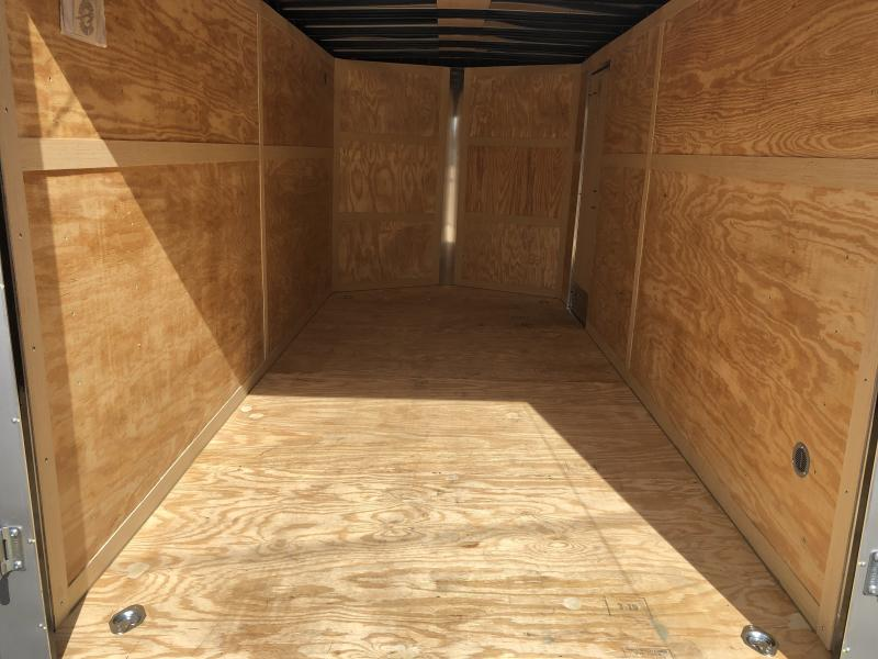 2019 Homesteader 7x16 Intrepid sd ramp 6in extra ht 6.5 tall inside Enclosed Cargo Trailer