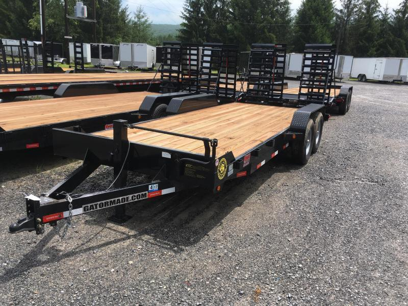 2019 Gatormade Trailers 82x20 7ton Equipment Trailer