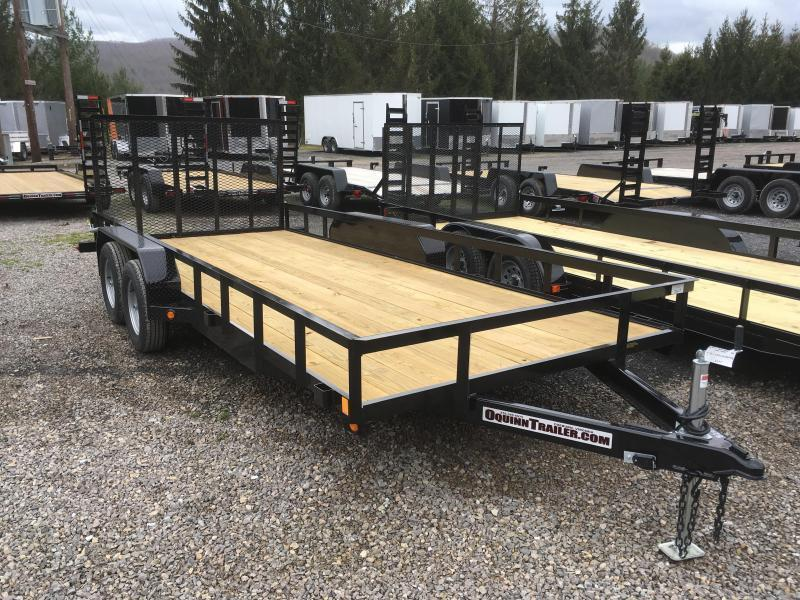 2019 Gatormade Trailers 82x18 Utility Trailer
