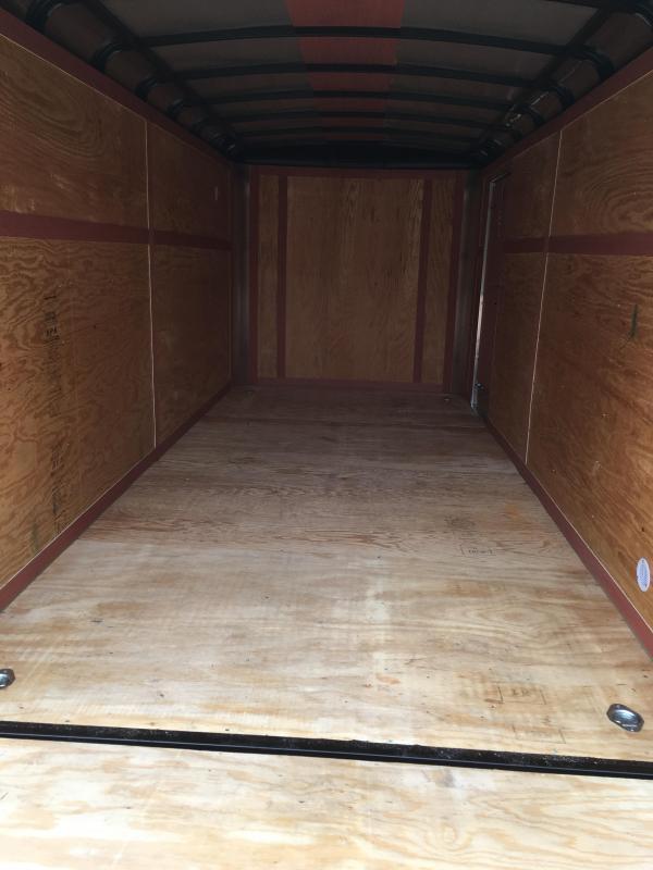 2019 Homesteader 7x16 Challenger sd ramp Enclosed Cargo Trailer