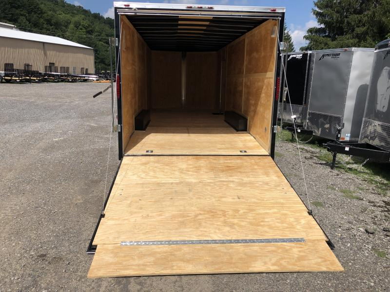 2020 Homesteader 824it 7' tall 5 ton wider ramp spread axle car hauler Enclosed Cargo Trailer