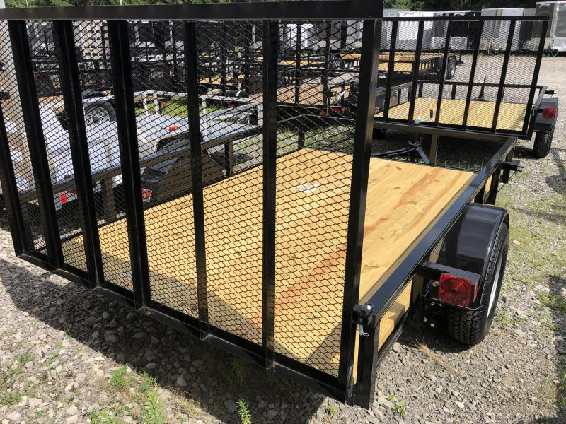 2019 Other (Not Listed) 76x10 gate tube top single axle Utility Trailer