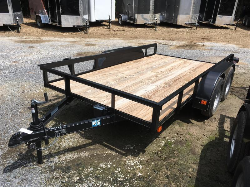 2018 Other 76x12 tandem utility no gate with brake Utility Trailer