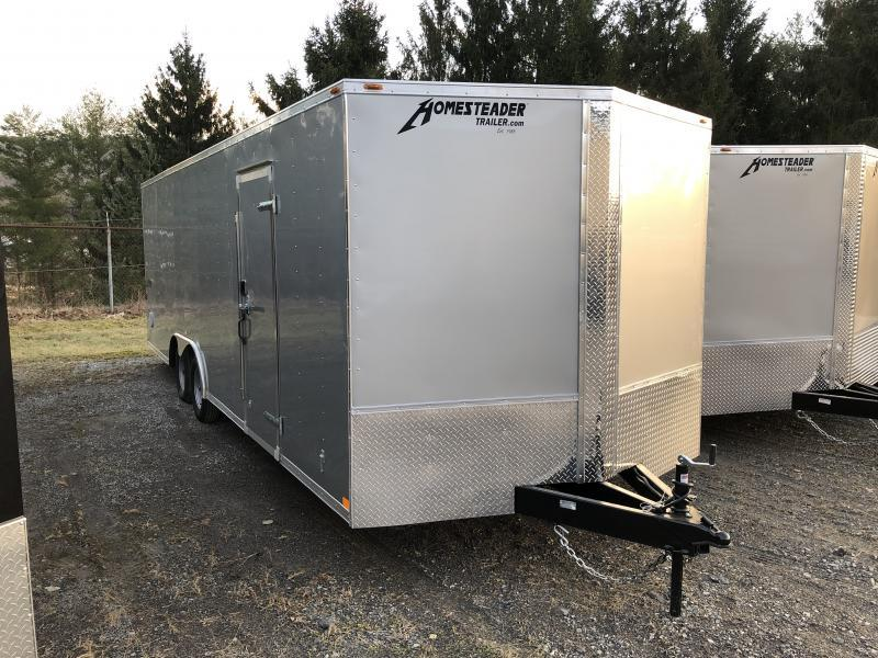 2019 Homesteader 824it 3 1/2 ton car hauler Enclosed Cargo Trailer