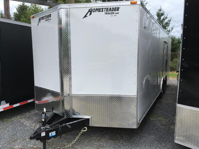2019 Homesteader 24ft 5ton car hauler with escape door Enclosed Cargo Trailer