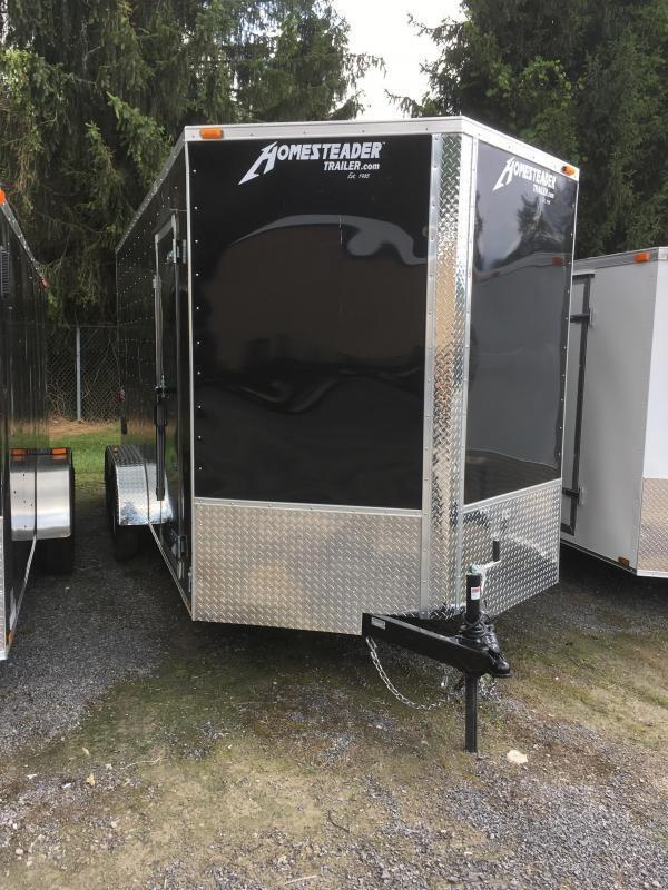 2019 Homesteader 7x16 Intrepid 1ft extra height Enclosed Cargo Trailer