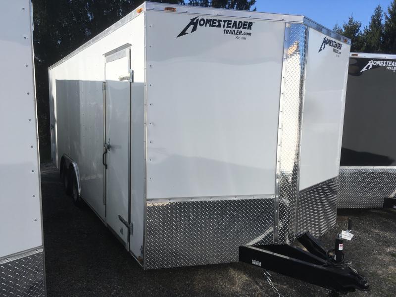 2019 Homesteader 8.5X20 Intrepid Car Hauler Enclosed Cargo Trailer