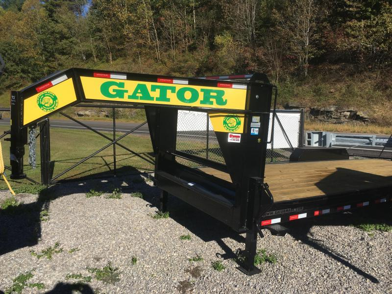 2018 Gatormade Trailers 82x22 7ton gooseneck low profile Equipment Trailer