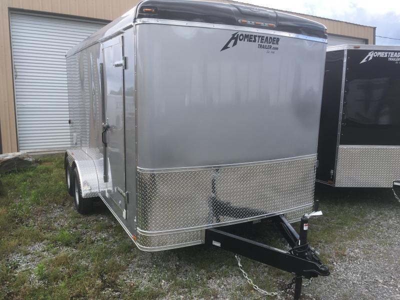 2019 Homesteader 7x14 Challenger sd Ramp Door Enclosed Cargo Trailer