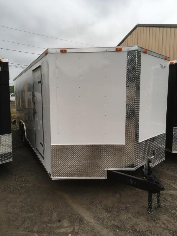 2019 Cynergy Cargo 8.5x24 7k car hauler Enclosed Cargo Trailer
