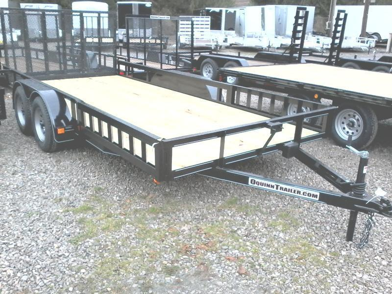 2019 Other (Not Listed) 82X16 gate w/side ramps brake Utility Trailer