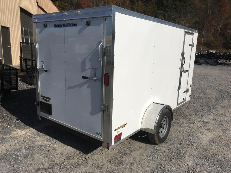 2019 Continental Cargo 6x12 vnose LE sd ramp door