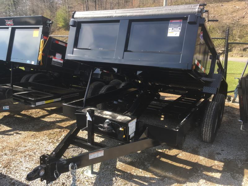 2018 Hawke Trailers 7X12 6TON  WITH TARP Dump Trailer