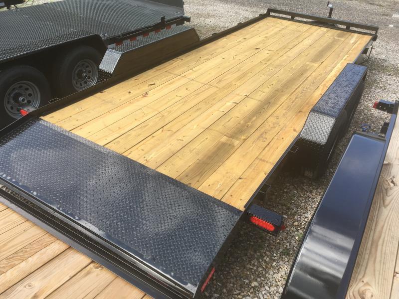 2019 Gatormade Trailers 20ft 5ton dovetail wood car hauler Car / Racing Trailer