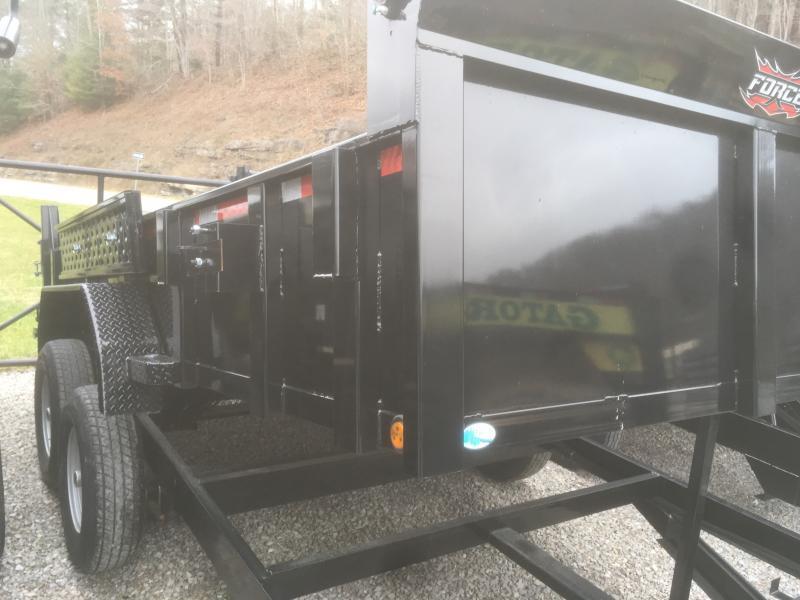 2019 Forest River Inc. 7x14 7ton Dump Trailer