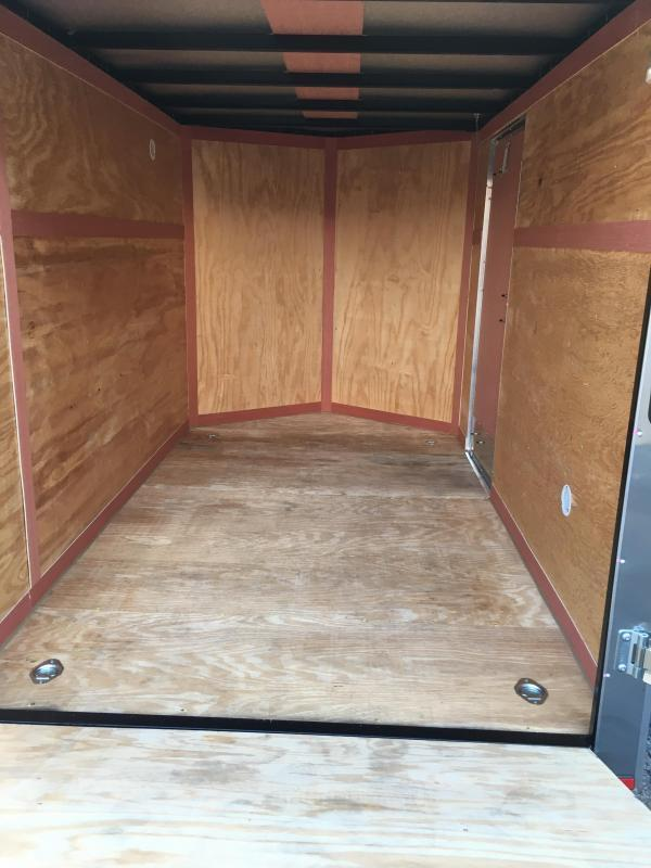 2019 Homesteader Inc. 6x10 Intrepid sd ramp single axle Enclosed Cargo Trailer