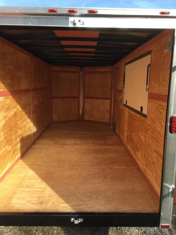 2019 Homesteader 7x16 Intrepid Concession 6in extra height Enclosed Cargo Trailer