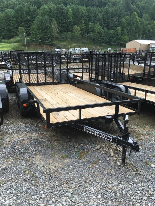 2018 Other (Not Listed) 76X14 gate brake tandem Utility Trailer