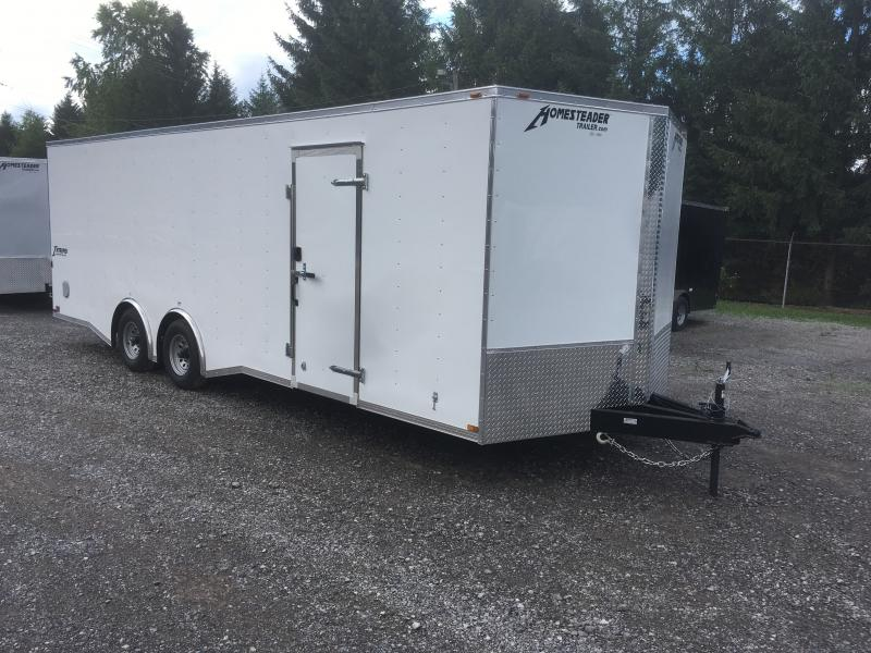 2019 Homesteader 8.5x24 5 ton spread axle car hauler Enclosed Cargo Trailer