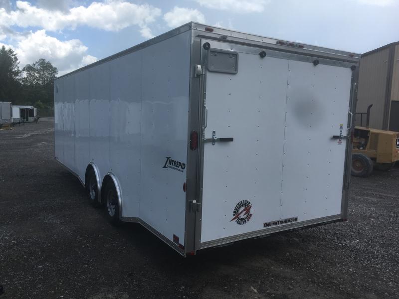 2019 Homesteader 8.5x24 5 ton spread axle car hauler Enclosed Cargo Trailer