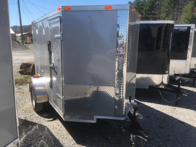 2018 Cynergy 5x8 vnose sd ramp Enclosed Cargo Trailer