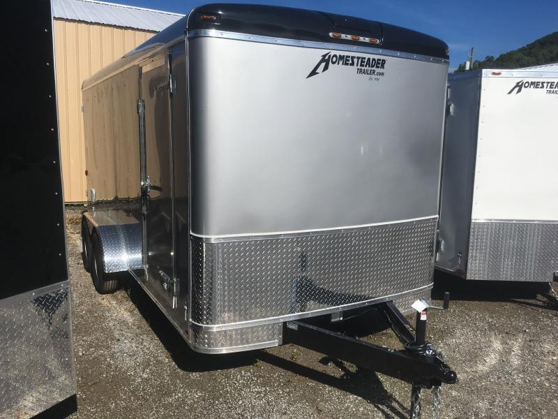 2019 Homesteader 7x16 Challenger Double Door Enclosed Cargo Trailer