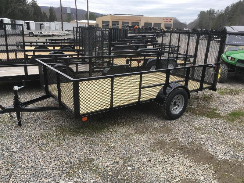 2018 Other (Not Listed) 76x12 2ft mesh side single axle Utility Trailer