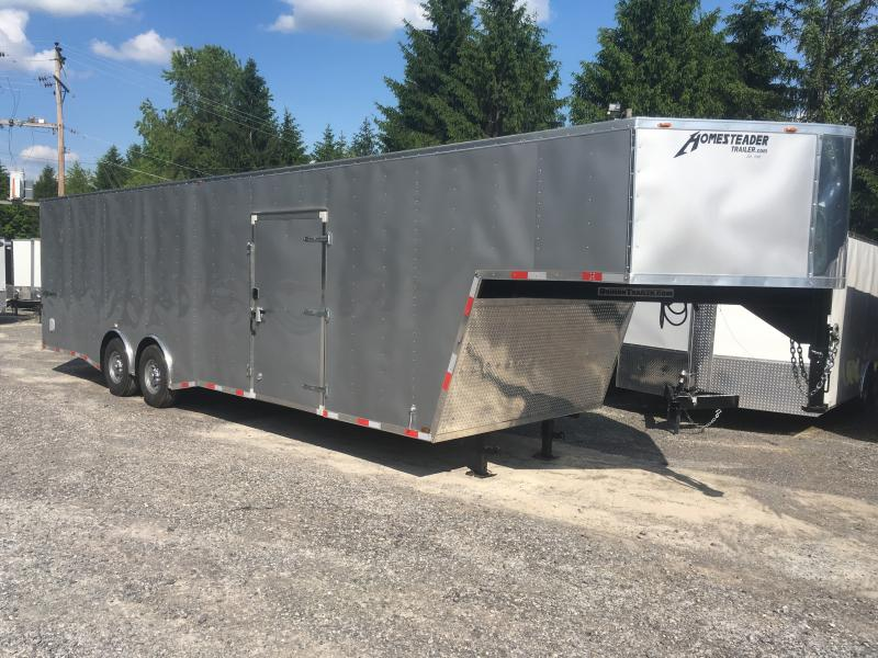 2018 Homesteader 8.5x36 Champion 7ton Gooseneck 7ft tall Enclosed Cargo Trailer