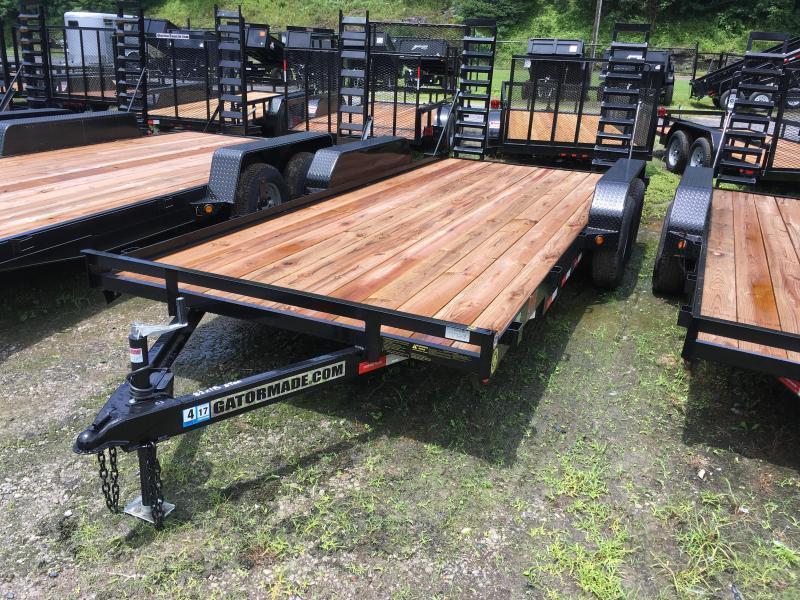 2019 Gatormade Trailers 18ft 5 ton Equipment Trailer
